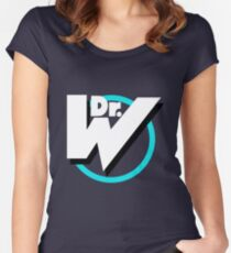 Dr. Wily Logo Women's Fitted Scoop T-Shirt