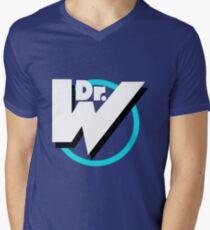 Dr. Wily Logo Men's V-Neck T-Shirt