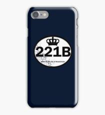 221B Baker St. iPhone Case/Skin