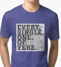 The Courteeners Tri-blend T-Shirt