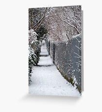 Almost Narnia! Greeting Card