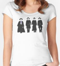 Tombstone: Justice is Coming Women's Fitted Scoop T-Shirt