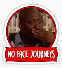 No face journeys Sticker