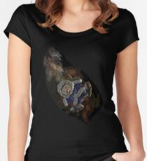 Ice climber pain Women's Fitted Scoop T-Shirt