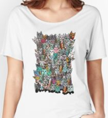 Gemstone Cats - Emerald Women's Relaxed Fit T-Shirt