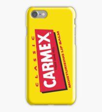 Carmex Classic Lip Balm Logo iPhone Case/Skin