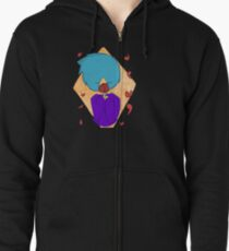 Garden scapes Zipped Hoodie