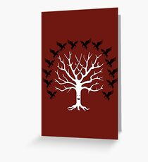 House Blackwood Tee Greeting Card
