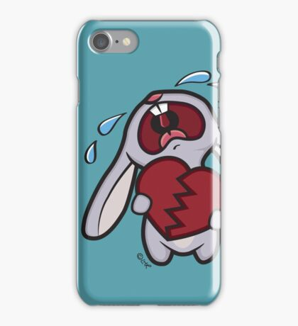 Broken Hearted Bunny iPhone Case/Skin