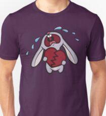 Broken Hearted Bunny Unisex T-Shirt