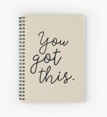 Cuaderno de espiral Lo tienes