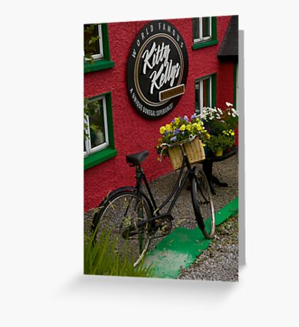Kitty Kelly's restaurant, Donegal - tall Greeting Card