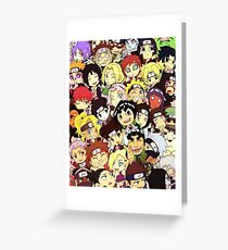 Naruto Chibi Greeting Card