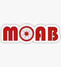 Moab (Bike Wheel) Sticker
