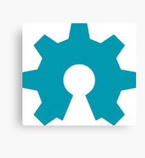 Open Source Hardware Logo Canvas Print