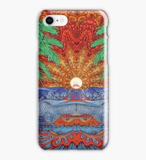 Rick And Morty Sun Tapestry  iPhone Case/Skin