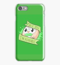 Rowlet the Adorable iPhone Case/Skin