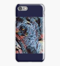 Van Gogh Catahoula Dog iPhone Case/Skin
