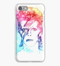 Bowie painting iPhone Case/Skin