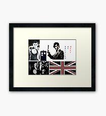 British At Best.  Framed Print