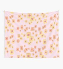 Floating Lanterns Gleam Variant Wall Tapestry