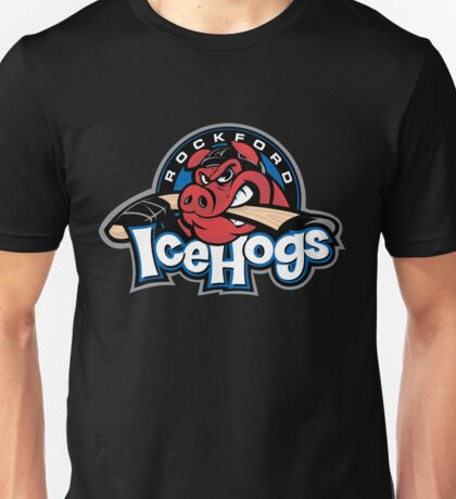 Rockford Ice Hogs Unisex T-Shirt