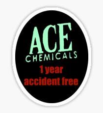 Gotham City's Ace Chemicals Sticker