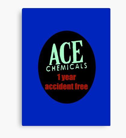 Gotham City's Ace Chemicals Canvas Print