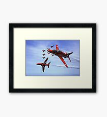 The RAF (Royal Air Force) Red Arrows Framed Print