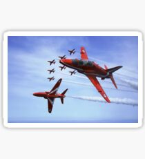 The RAF (Royal Air Force) Red Arrows Sticker