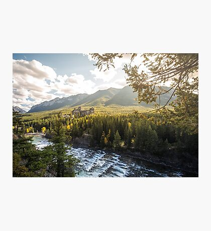 Banff, Alberta - Banff Springs Hotel Photographic Print