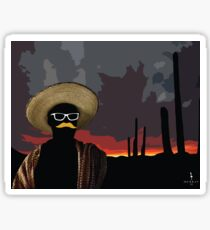Bandito Sunset Sticker