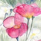 Poppies by Diane Hall
