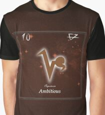 Elements of Capricorn Graphic T-Shirt