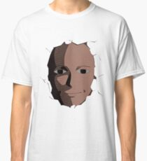 Saitama Face Expression (One Punch Man Anime) Classic T-Shirt