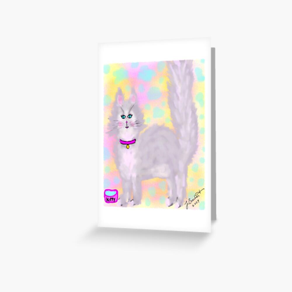 Hey Kitty Greeting Card