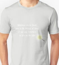 Dumbeldore's Happiness Quote T-Shirt