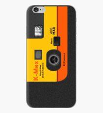 Disposable Camera - Orange iPhone Case