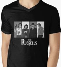 The Russells Men's V-Neck T-Shirt