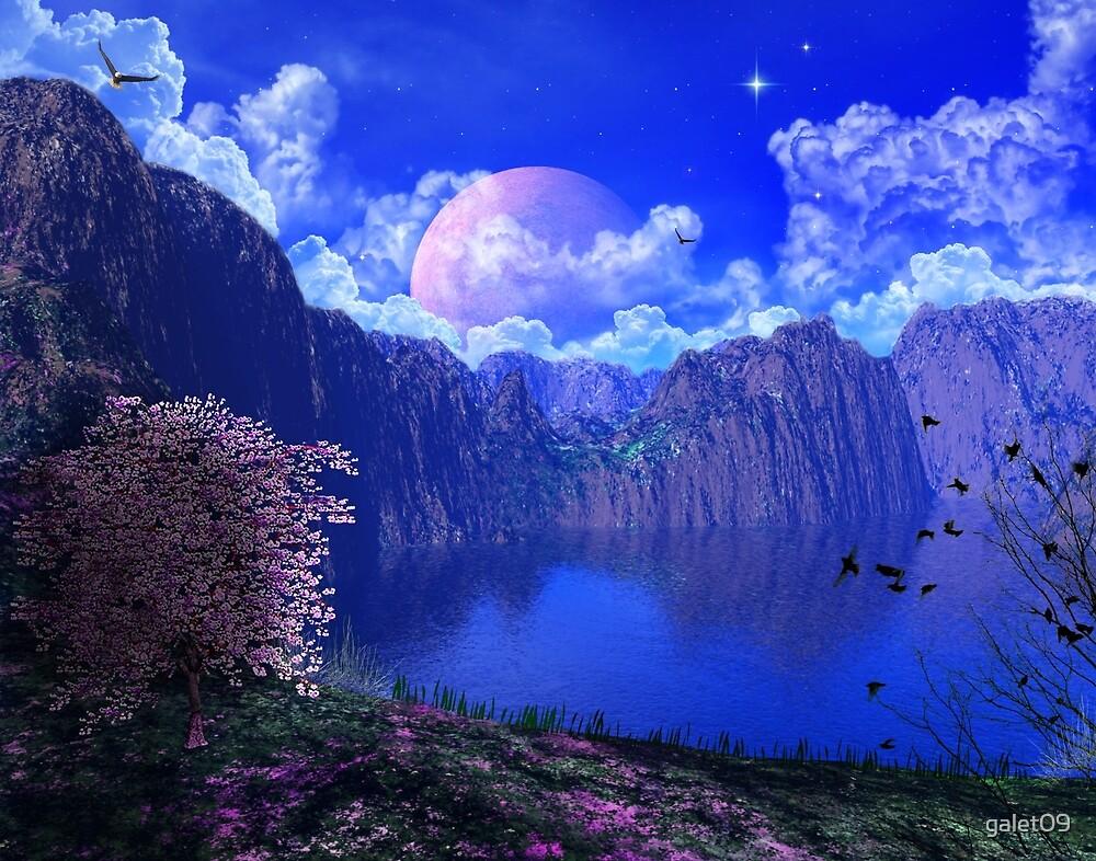 C.E. Beautiful Mountain Art 2 by galet09
