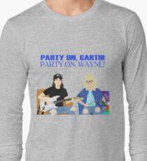 WAYNE'S WORLD - Party On! Long Sleeve T-Shirt