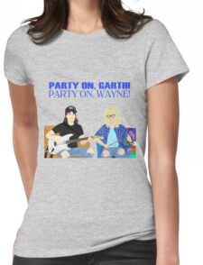WAYNE'S WORLD - Party On! Womens Fitted T-Shirt