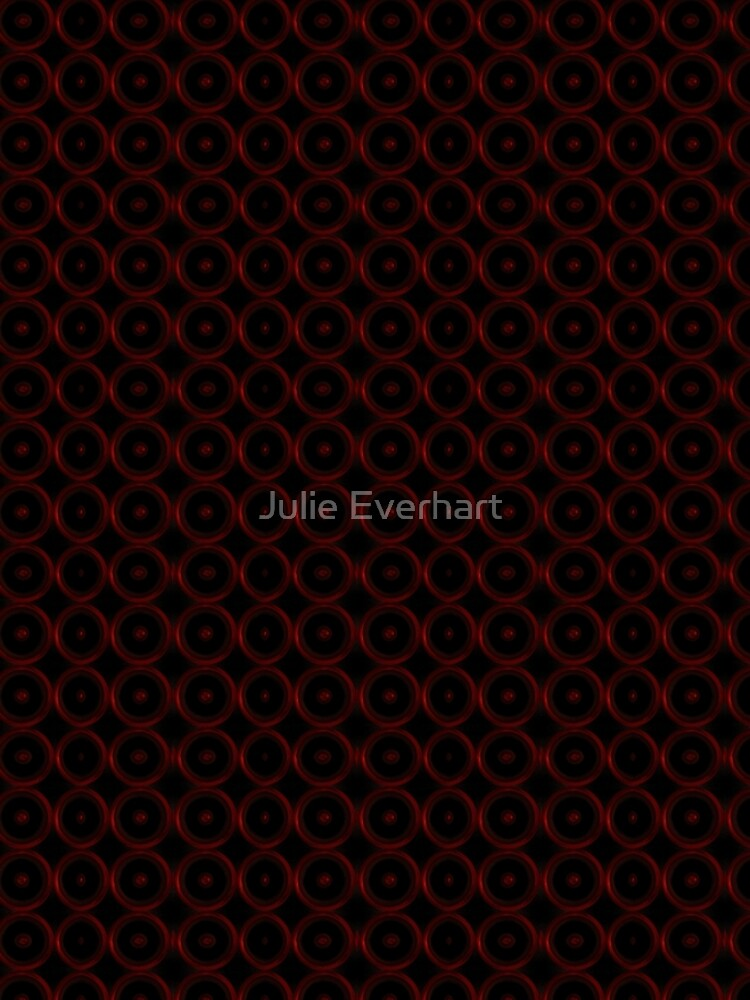 Black with Red Circles by julev69