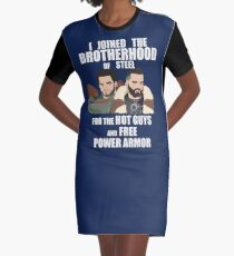 Why I Joined the Brotherhood of Steel Graphic T-Shirt Dress
