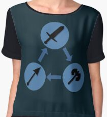 WEAPON TRIANGLE | Fire Emblem Women's Chiffon Top