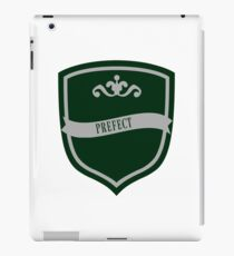 Green and Silver Badge 3 iPad Case/Skin