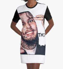 Stitches Rapper TMI Gang Graphic T-Shirt Dress