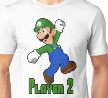 Luigi Player Two Unisex T-Shirt