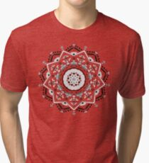Star Mandala Green Tri-blend T-Shirt