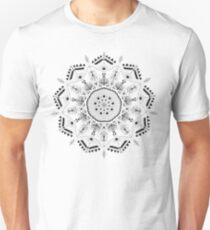 Star Mandala Green Unisex T-Shirt